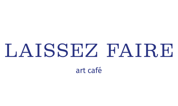 laissez faire art cafe logo